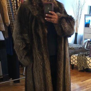 Jackets & Blazers - Lovely Vintage long fur coat